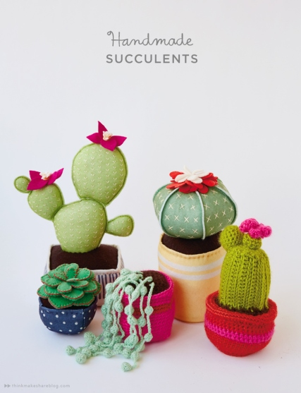 Handmade-succulents-with-Hallmark-artists-_-thinkmakeshareblog