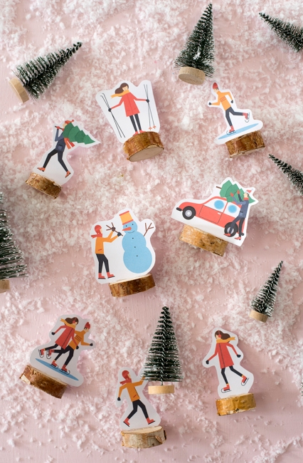 diy-christmas-village-with-free-printables-6