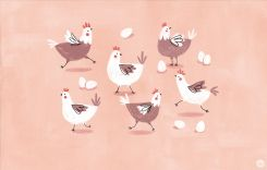 Cute-Chickens-Desktop-Wallpaper-_-thinkmakeshareblog